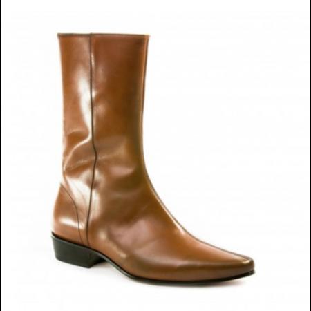 SALE: Low Lennon Boot - Vintage Tan Calf-42 (UK 8 / US 8.5)