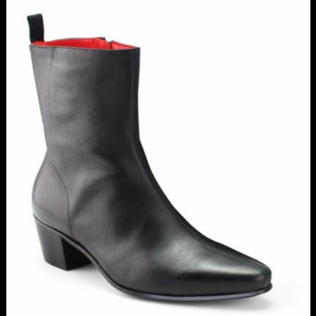 Beatwear Bargain : Zip Boot in Black Leather