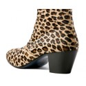 The DC5 Boot - Leopard Print Leather