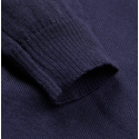 Geno Navy Roll Neck Jumper