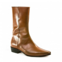 SALE: Low Lennon Boot - Vintage Tan Calf-40 (UK 6 / US 6.5)