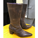 19-60 Winklepickers Ladies Tori Long Boot Size Eu 37