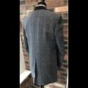 Sample Sale : Grey Check Lennon Frock Coat 42R