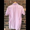 60's Outlet - Lambretta Shirt Purple Check Size Small