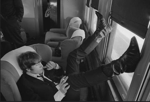 John Lennon is longer cuban heel boots (Lennon Boots)